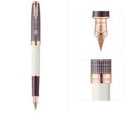 派克卓尔玲珑紫砂墨水笔